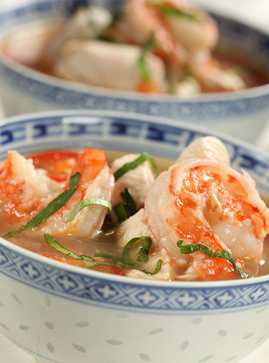 Thai food produced at culinary school UK