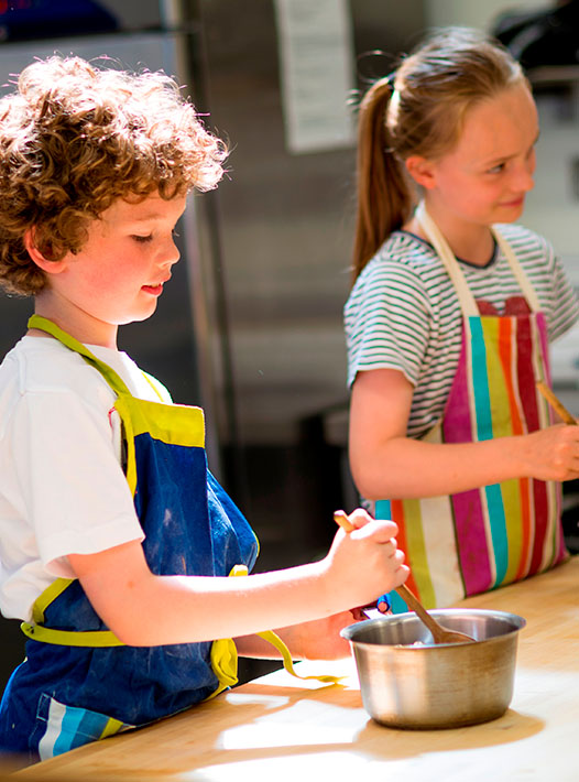 Childrens One Day course at culinary school UK