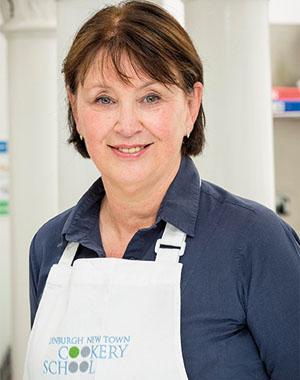 Dawn Allison is one of the teachers at culinary school Edinburgh