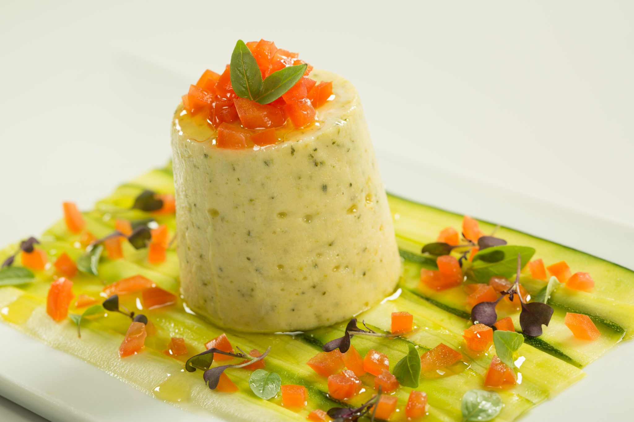 Courgette Mousse