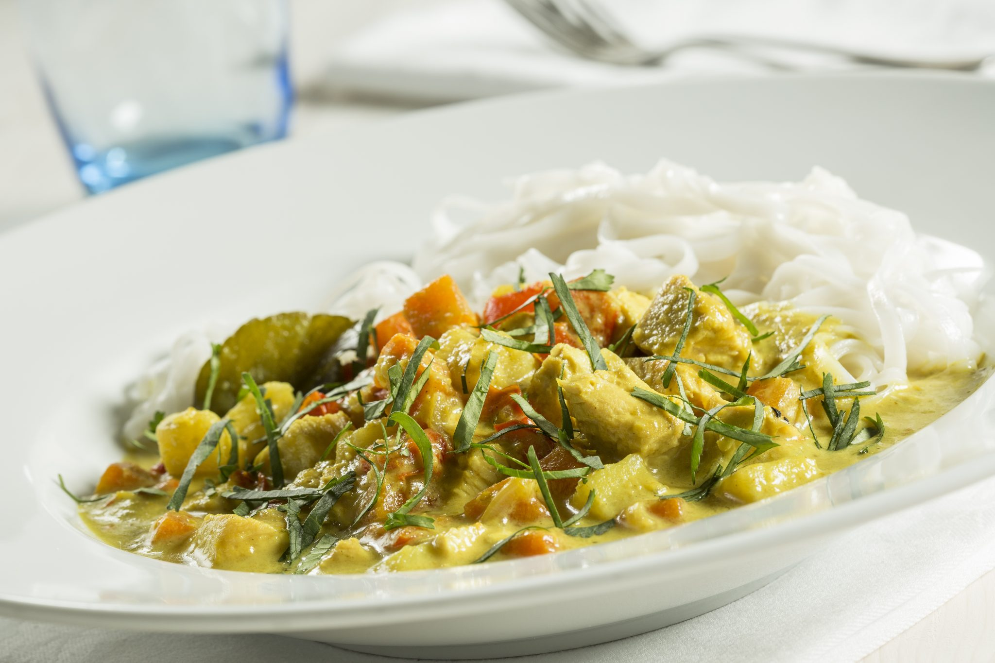Malaysian Style Turkey Curry
